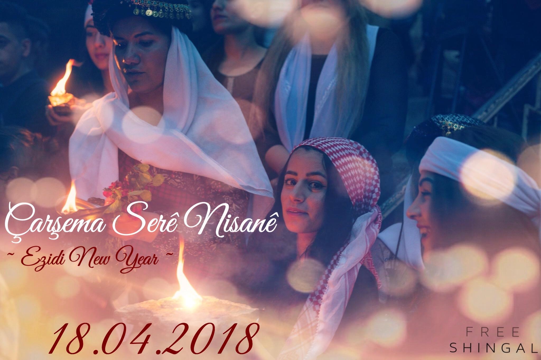 Ezidischer Neujahrsfest. Copyright Foto: FreeShingal.